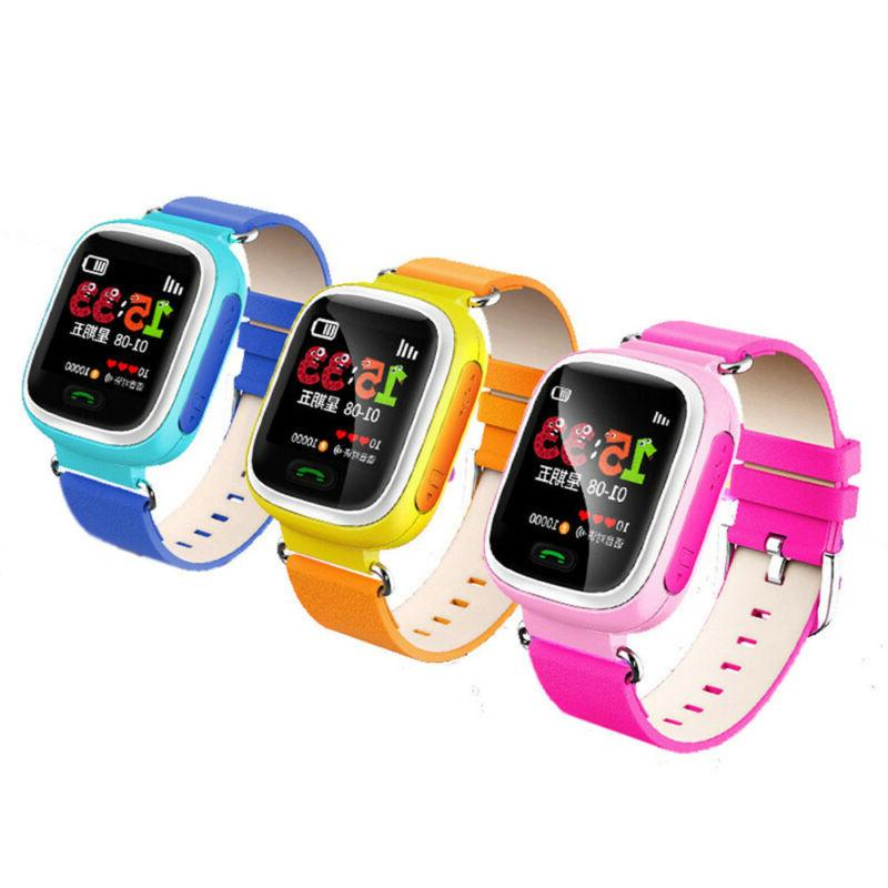 q80 gps kid smart watch baby anti