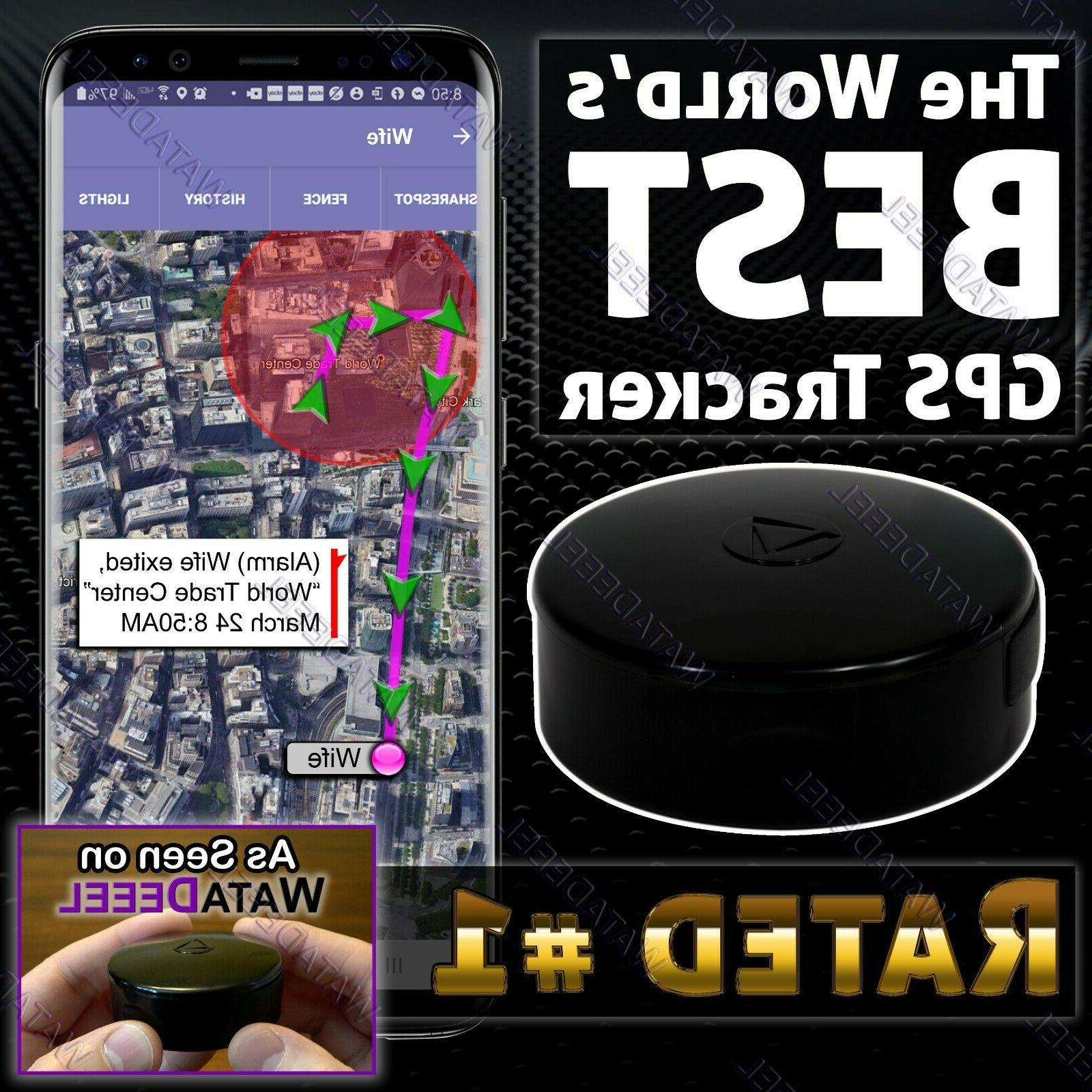 real time self contained gps tracker waterproof