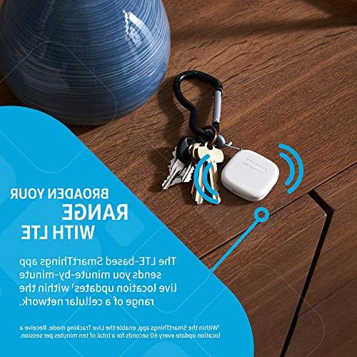 Samsung SmartThings Tracker Live GPS-Enabled via Nationwide LTE-M | Pets More - Small,