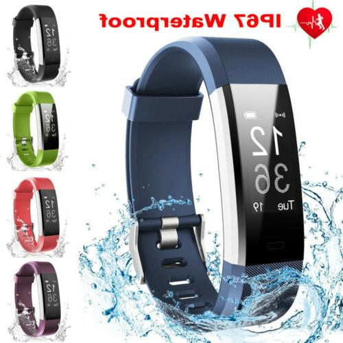 smart bracelet wristband watch blood pressure fitness