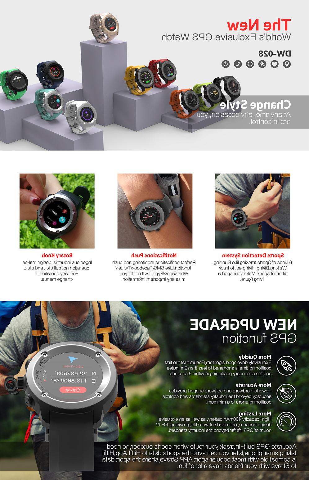xLab Watch Rate Monitor, Fitness 400mAh PowerBank, USB