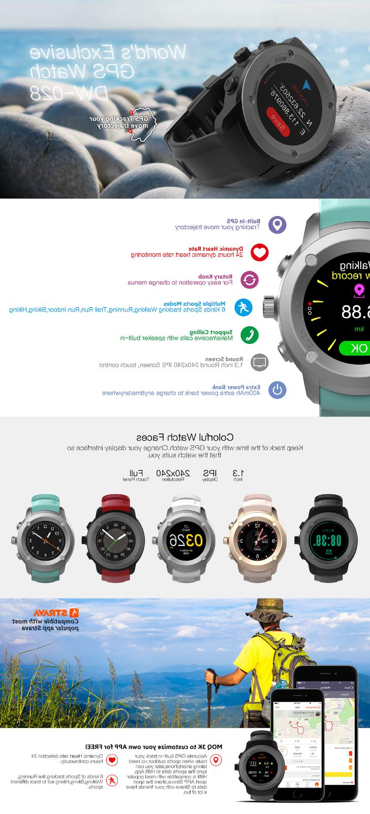 xLab Smart Watch Heart Rate Fitness