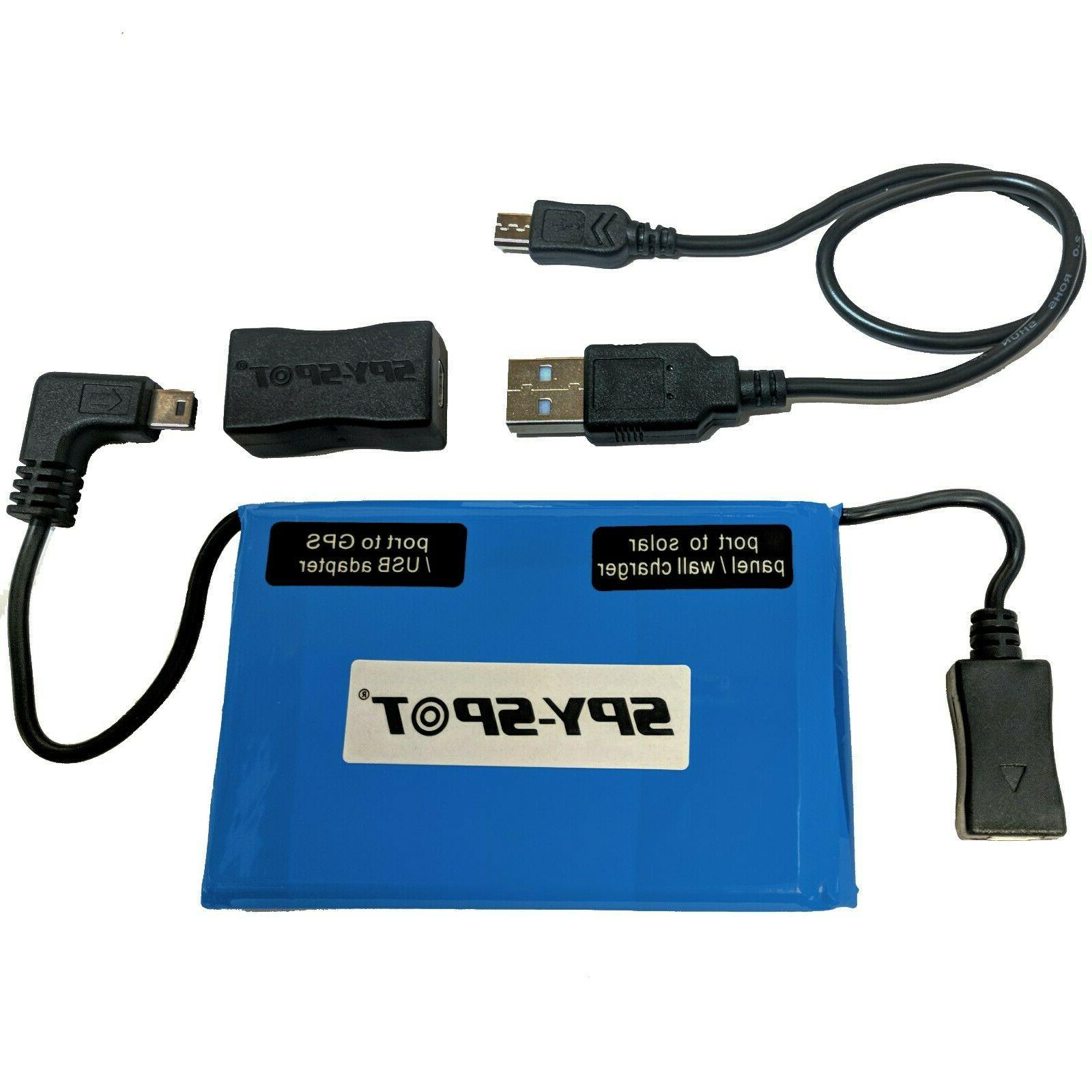 Spy Spot Extended 4 Month Battery For Micro Portable GPS Tra