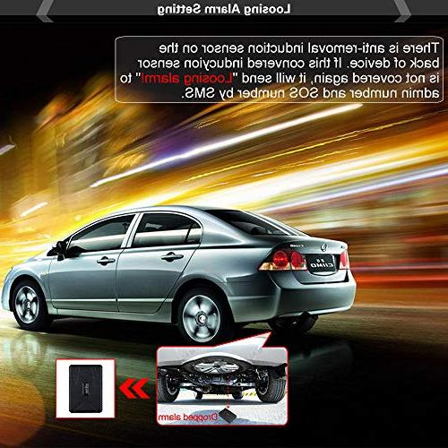Tkstar Tracker, Real Time Tracking 10000mah Theft GPS With Magnetic Car Management