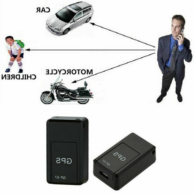 Magnetic Tracker Car GPRS Real Time Tracking Locator Device US