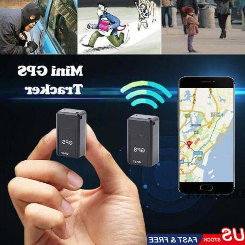 Magnetic Car GSM GPRS Time Tracking US