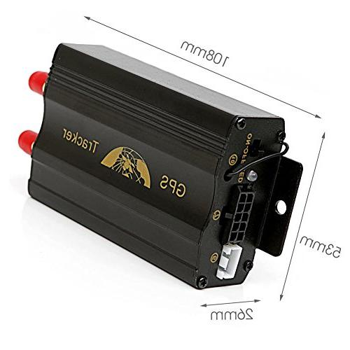 Vehicle Car GPS Tracker 103B with Remote GSM Slot Tracker GSM Tracking Device