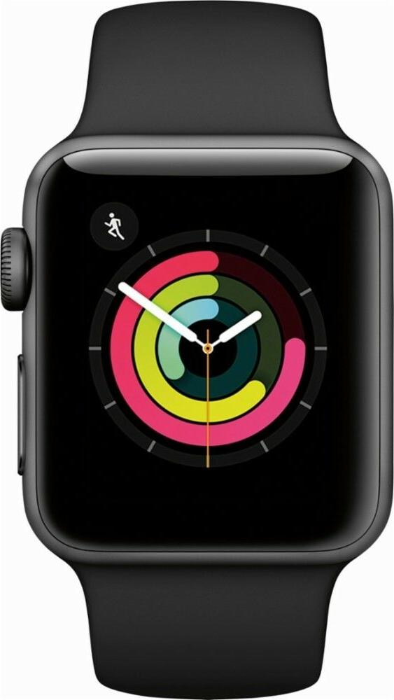 Apple Watch Series 3 38MM Gray Case with Band
