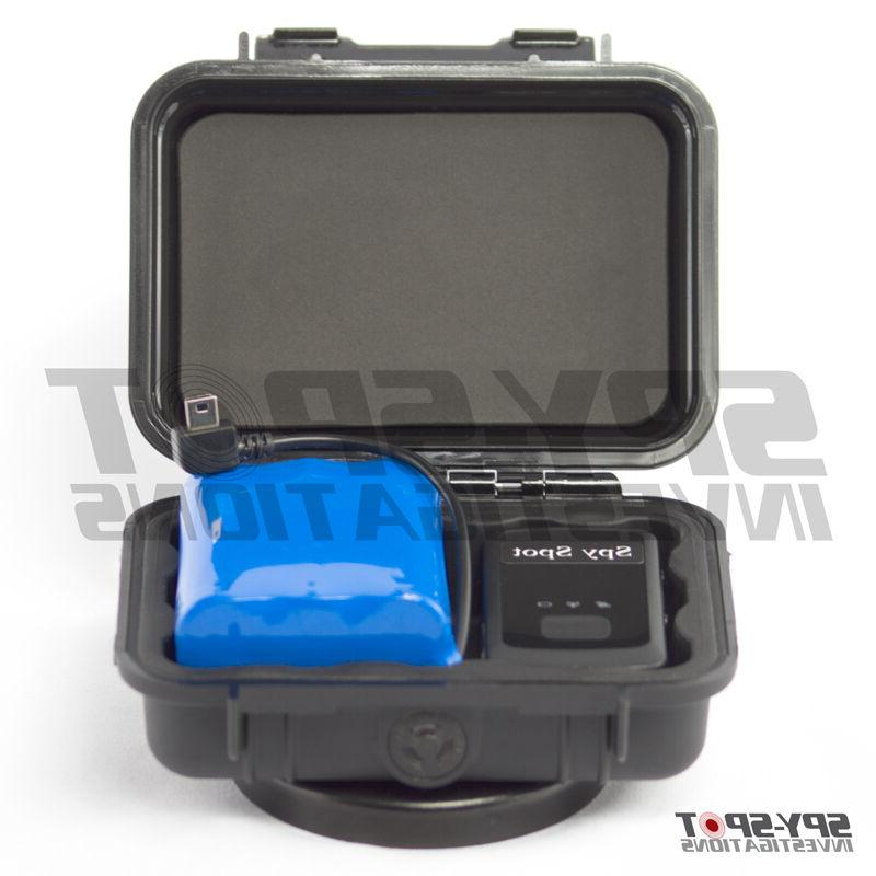 Weatherproof Case with Rechargeable Battery for