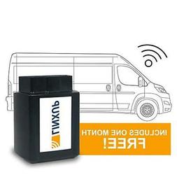 Linxup LPAAS1P1 OBD Vehicle Tracker with Month of Service Ca