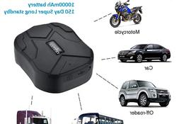 Magnetic GPS Tracker for Vehicles,10000mAh Car Locator Real
