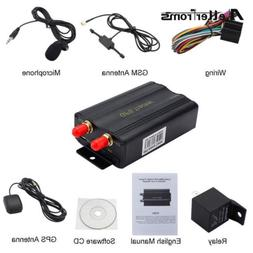Mini GPS TK103A Vehicle GSM GPRS SMS GPS Locator Tracker Map