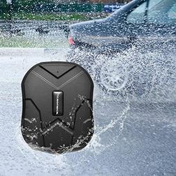 GPS Tracker,Anti-Lost Waterproof GPS Tracker, Magnet GPS Car
