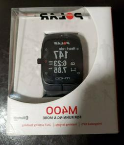 NEW! POLAR M400 - Integrated GPS, 24/7 Activity Tracking, Bl