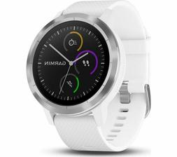 New Garmin Vivoactive 3 GPS Watch Activity Tracker White 010