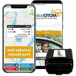 MOTOsafety OBD with FREE month of 3G GPS Service, Teen Drivi