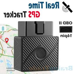 OBD II GPS Tracker Real-Time OBD2 Vehicle Car Truck Tracking