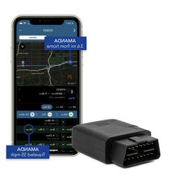 Lightning GPS OBD II Plug-in Cellular Real-Time Fleet Tracki