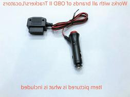 obd ll gps tracker power supply adapter