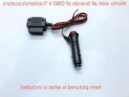 OBD ll GPS Tracker Power Supply Adapter with ON/OFF switch 1
