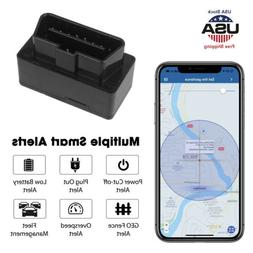 OBD2 GPS Tracker Real Time Vehicle Tracking Device OBD II Ca