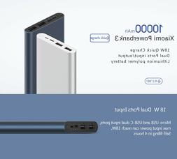 Original 10000mah Xiaomi Power Bank External Battery Portabl