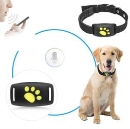 Pet Tracker GPS Dog / Cat Collar Water-Resistant USB Chargin