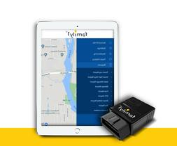 Family1st Real-Time GPS Tracker - OBD Tracking Device for Ca