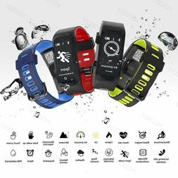 Smart Bracelet Wristband Watch Heart Rate Monitor Fitness Tr