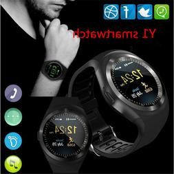 Smart Watch Phone Fitness Tracker Wristwatch With Sim Sync C