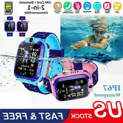 Smart Watch with GPS GSM Locator Touch Screen Tracker SOS fo