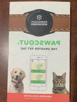 Pawscout Smarter Pet Tag New Version 2.0 - Lost Pet Alerts,