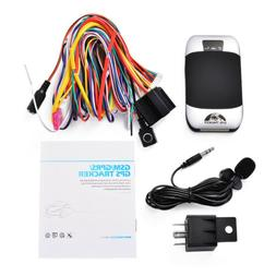 sms gsm gprs supported gps tracker car
