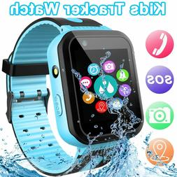 【SOS Phone & Remote APP】 GPS Tracker Smart Watch for Kid