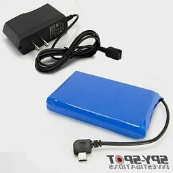Spy Spot Portable Extended Rechargeable Battery for Real Tim