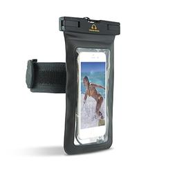 Gear Beast TPU Waterproof Bag Armband for Smartphones w/ Dis