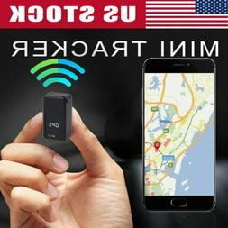 USA Magnetic Mini GPS Tracker Car Spy GSM GPRS Real Time Tra