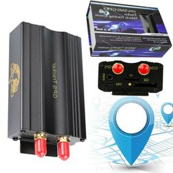 Vehicle Car GPS SMS GPRS Tracker Real Time Tracking Device S