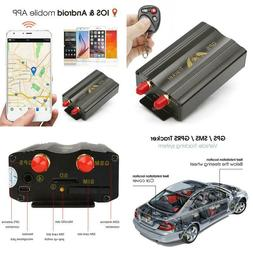 Anysun Vehicle Car Gps Tracker Tk103B With Remote Control Pc