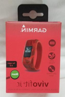 Garmin Vivofit Jr. Activity Tracker Broken Lava