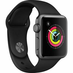 Apple Watch Series 3 GPS 38 mm Space Gray Aluminum Case with