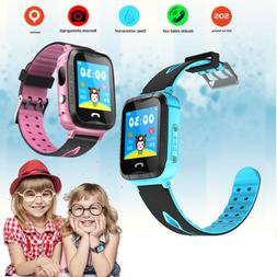 Waterproof kids Smart Watch GPS Tracker Phone Watch with Cam