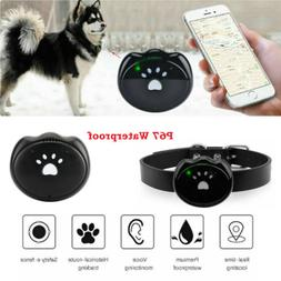 Waterproof Pet Collar GPS GSM GPRS Tracker Monitor Real time