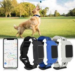 Waterproof Pet Collar GPS GSM GPRS Tracker Real time Locator