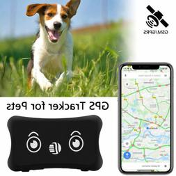 Waterproof Pet GPS Tracker Cat Dog Anti-Lost Real Time Track