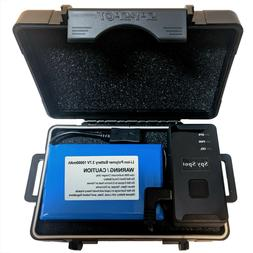 Weatherproof Magnetic Mount Case with Extended Rechargeable