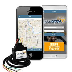 MOTOsafety Wired 3G GPS Car Tracker with FREE Month of Servi